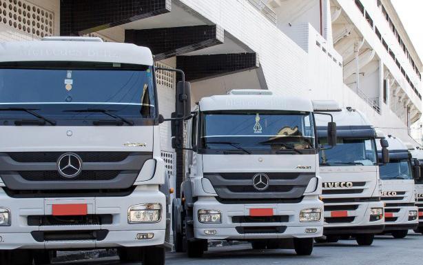 Imagem de destaque dos caminhões